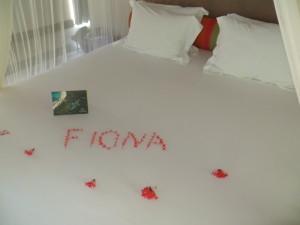 Fiona in petals